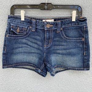 SO Size 9 Dark Wash Denim Shorts